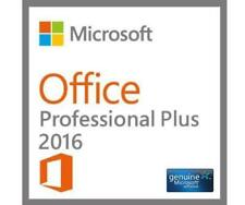 Microsoft Office 2016 Professional Plus DVD Brand New Genuine - 1 PC Install