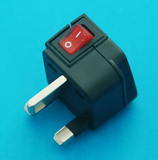 Wonpro Universal USA EU AUS to UK HK Singapore Travel AC Power Plug Adapter New