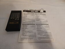 TEAC remote control RC-454 Nice Clean for PD-495 Compact disc Player w/ manual