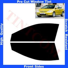 Pre Cut Window Tint Honda Civic 3Doors Hatchback 2001-2005 Front Sides Any Shade