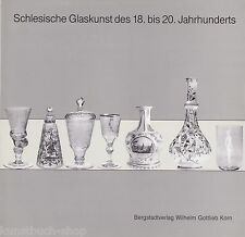 Fachbuch Schlesische Glaskunst 18. bis 20. Jahrhundert, informatives Buch, NEU