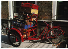Ansichtskarte: Transport - Fahrrad mit vielen Koffern