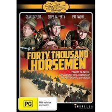 Australian Light Horse War Classic 40000 Horsemen fully restored War DVD movie