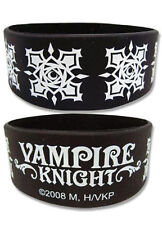 *NEW* Vampire Knight: Day Class Discipline Black PVC Wristband by GE Animation