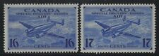 Canada 1942 Airmail Special Delivery set Sc# CE1-2 NH