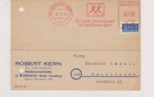 BUND / PFS / AFS,  Weissach/Württ., Robert Kern, Strickstrumpf, 2.9.49