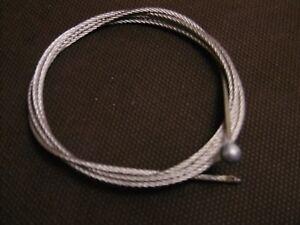 cable suspension 1.5mm acier inox longueur 1m avec bout sertie panneau led