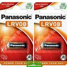 2 x Panasonic A23 12V Alkaline Battery MN21 23A LRV08 K23A E23A V23GA 12 Volt