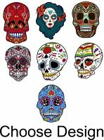 Day of the Dead Día de los Muertos Sugar Skull Calavera Choose Vinyl Sticker