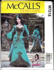 Halloween Costume Sewing Pattern Peacock Yaha Cosplay 14 16 18 20  22 New 7218