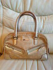 Gucci Clutch Bag Handbag Gold  100% Genuine Small