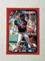 MARCELL OZUNA 2020 Topps Total RED WAVE PARALLEL SSP 10/10! EBAY 1/1! #79A!
