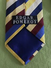 Edgar Pomeroy Tie