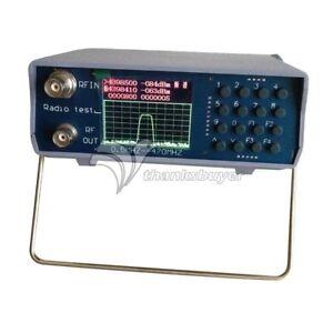U/V UHF VHF Dual Band Spectrum Analyzer w/Tracking Source 136-173MHz/400-470MHz