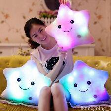 LED Glowing Luminous Star Thow Pillow Battery Light Cushion Children Home Decor