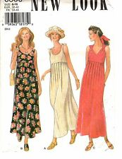 New Look Sewing Pattern Women's SUMMER MAXI DRESS 6380 Sz 6-8-10-12-14-16 UNCUT