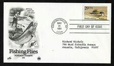 #2549 29c Fishing Flies - Muddler Minnow - ArtCraft/PCS FDC