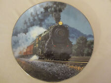 The Broadway Limited collector plate Steam Locomotives Railroads Train Pierce