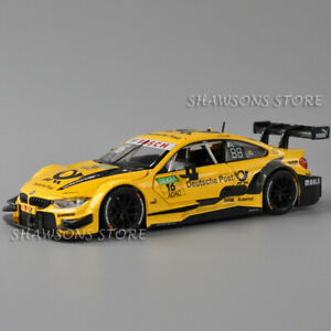1:24 Sport Racing Car Model DieCast Metal Alloy BMW M4 DTM Replica Collection