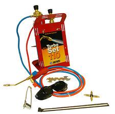 Oxyturbo Set 110 Portable Gas Welding & Brazing Kit C/W OxyTurbo Gas Cylinders