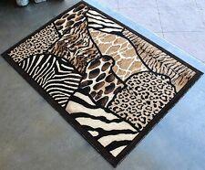 6' X 8' AFRICAN SAFARI ANIMAL SKINS PRINT HIGH QUALITY DENSITY AREA RUG EXOTIC