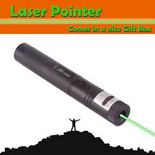 GREEN LASER POINTER <1mW 532nm FOCUS LIGHT BEAM RECHARGEABLE GMLITE LAZER