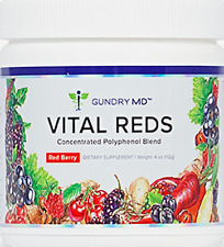 GUNDRY MD VITAL REDS 4oz Concentrated Polyphenol Metabolic Boosting Energy Heart