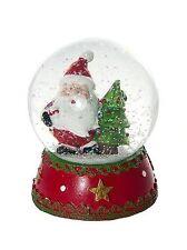 Father Christmas Snow Globe Kids Childrens Gift Xmas Home Decoration