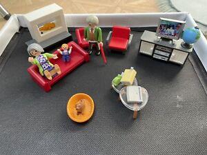 Playmobil Wohnzimmer Dollhouse 70207
