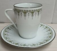 Vintage Noritake Fine China Kambrook Coffee Cup & Saucer Pn6954 c1968-80 Japan