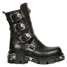 New Rock Biker Boots - Men's Footwear