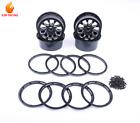 Metal Wheel Rim Beadlock Ring Set of 4 for 1/5 HPI Baja 5T Parts Rovan KM