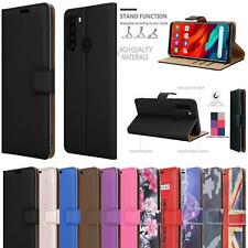 For Blackview A80 Pro Case Slim Leather Wallet Stand Phone Cover + Screen Glass