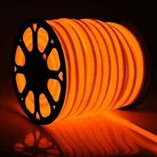 Orange 150' LED Neon Rope Light Home KTV Bar Store DIY Sign Decor 110V Outdoor