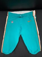 #77 MIAMI DOLPHINS NIKE GAME USED AQUA CURRENT STYLE PANTS 2019/2020 SEASON