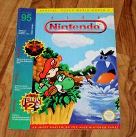 1995 Club Nintendo Magazine Secret of Evermore Missile Command Donkey Kong Kirby