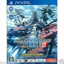 Phantasy Star Online 2 Episode 4 PS Vita SONY JAPANESE NEW JAPANZON
