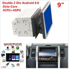 "2Din 9"" Android 8.0 Octa-Core Car Stereo Radio GPS Wifi 3G 4G BT DAB Mirror Link"