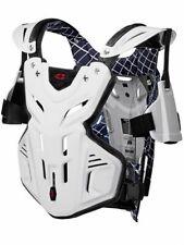 EVS BRUSTPANZER Brustschutz Motocross Enduro Quad F2 weiß MX Chest Protector