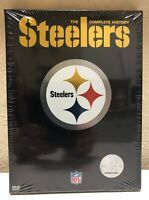 STEELERS THE COMPLETE HISTORY DVD NFL New