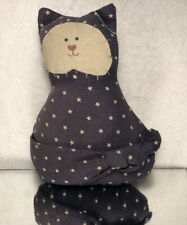 """FOLK ART/ HAND MADE 5"""" """"COUNTRY CAT""""/ PRE OWNED"""