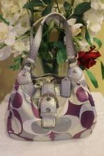 Coach opt art Scarf Print Muti-color Soho Shoulder Handbag F17406 (PU150