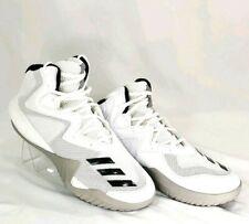 Adidas Mens 8 Basketball Shoes Originals BY3927 White Black Stripes APE 779001