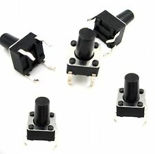 50pcs Micro switch push button 6 * 6 * 9 mm new good quality