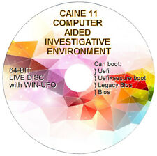 Computer Forensics- Computer Aided INvestigative Environment - CAINE 11 - 64 BIT