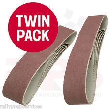 Cinturones de lijado 50 X 686mm Twin Pack (10 cinturones) Pintura Barniz de madera Plásticos De Metal