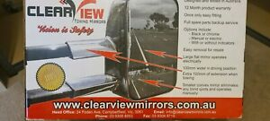 Clearview towing mirrors, electric control and indicators