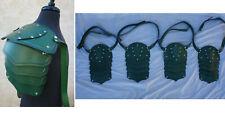 Lot 4 KNIGHT SQUAD Prop Medieval Renaissance Armor Leather Shoulder pauldron