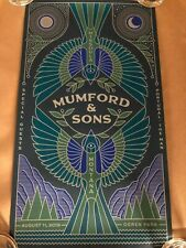 Mumford and Sons Missoula Poster 08.11.2019