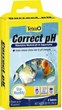 Tetra Correct pH 7.0 Freshwater Conditioner, 8 count    Free Shipping